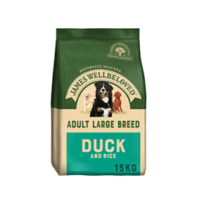 Packet of James wellbeloved large breed duck