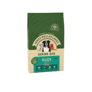 Packet of James wellbeloved senior adult duck