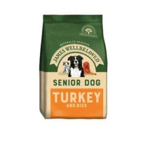 Packet of James wellbeloved senior turkey