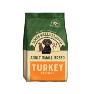 Packet of James wellbeloved small breed turkey