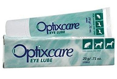 Tube of Optixcare Eye Lube
